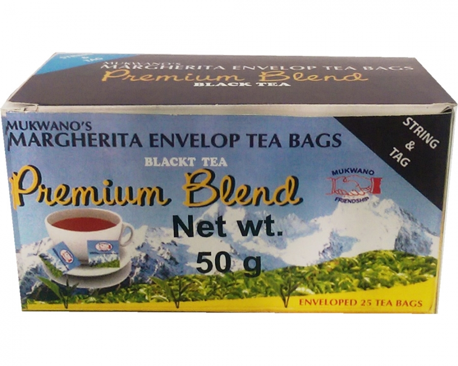 Envelop Tea bags with String and Tag